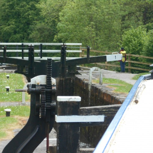 Lock #1 Uttoxeter Canal