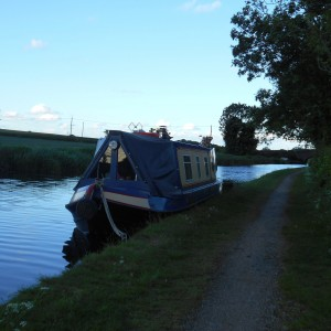 Mooring-Coventry Canal